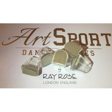 Absatzschoner mit  Chromlederfleck Ray Rose