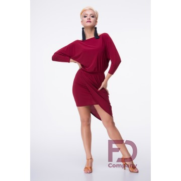 Latin Dress Bordeaux