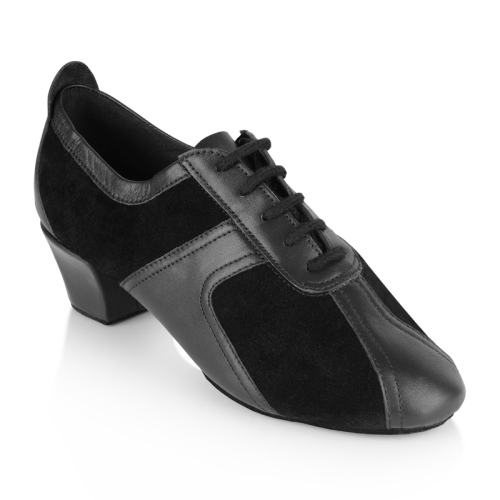 Ray Rose 410 Breeze|Black Leather/Black Suede