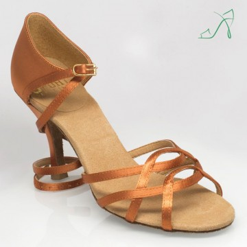 Ray Rose 840 Gobi |Light Tan Satin|